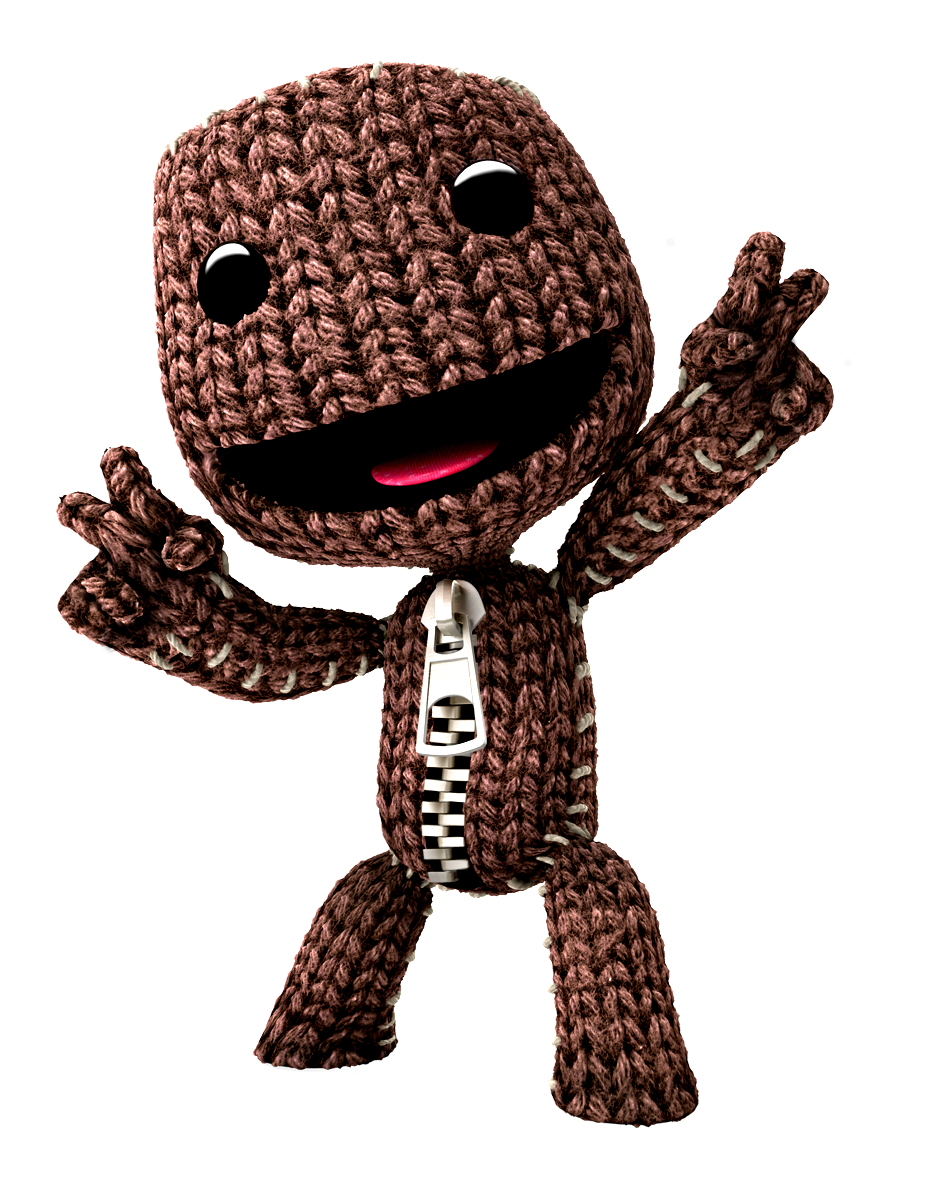 Sackboy drawing real life. Icon by slamiticon on