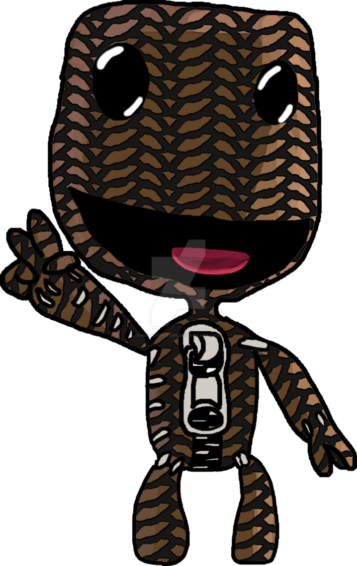 Ultimate uni vs by. Sackboy drawing vector free library