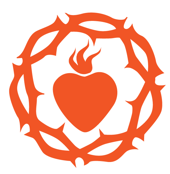 Sacred heart png. Image vector clipart psd