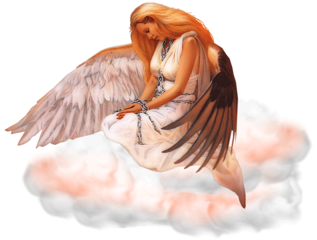 Sad angel png. Fantasy file mart