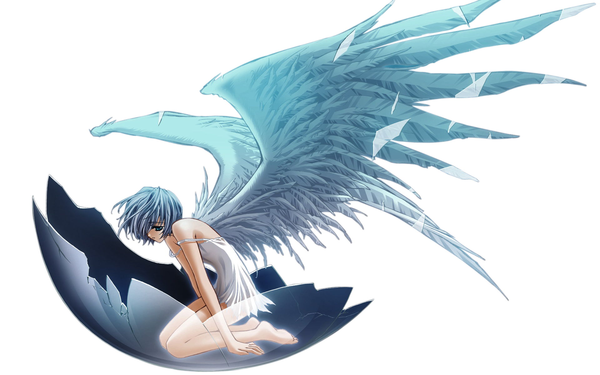 Sad angel png. Animes bg com evangelion