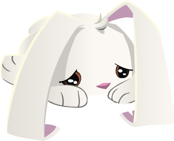 Sad animals png. Image bunny animal jam
