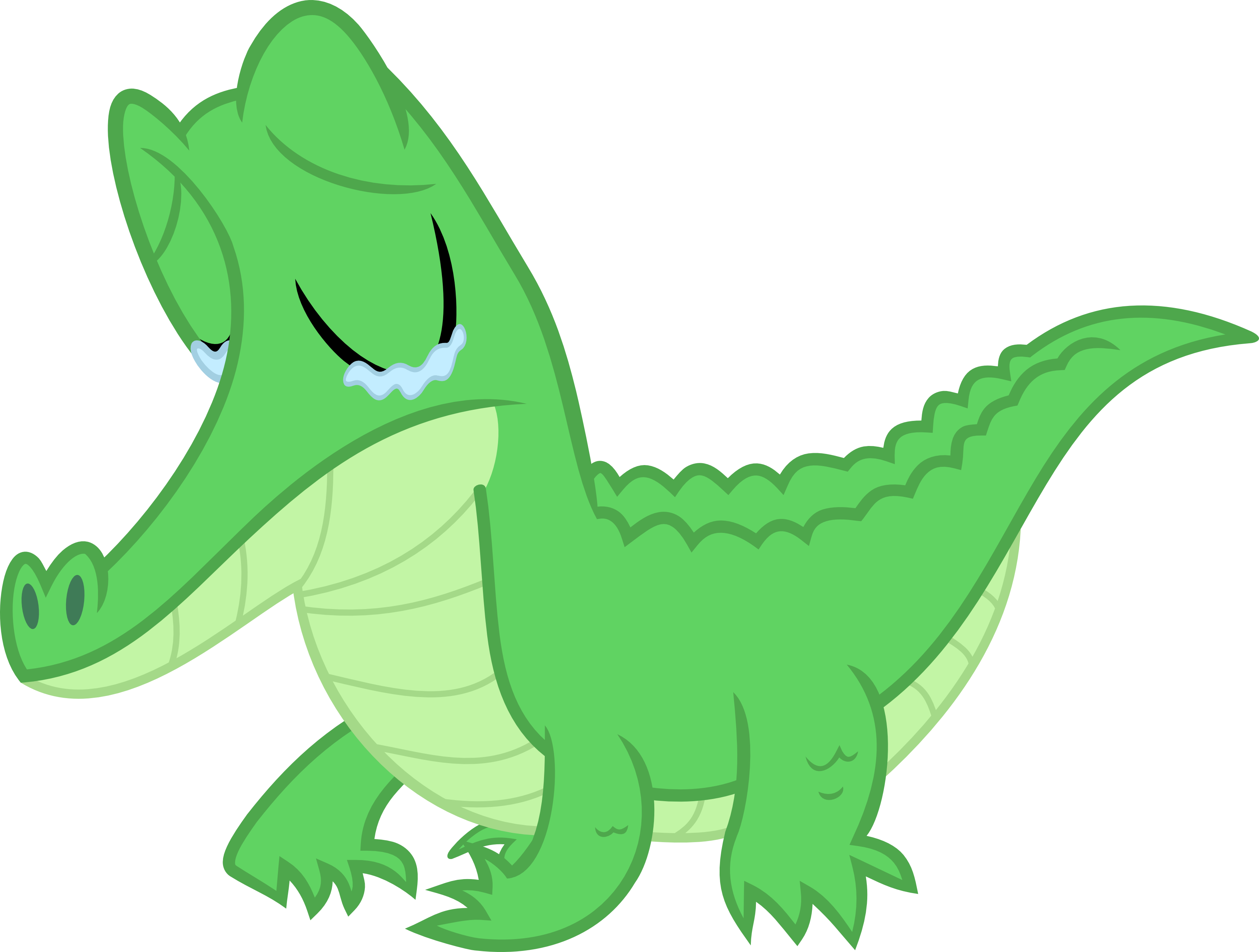 A little gator by. Sad animals png png royalty free stock