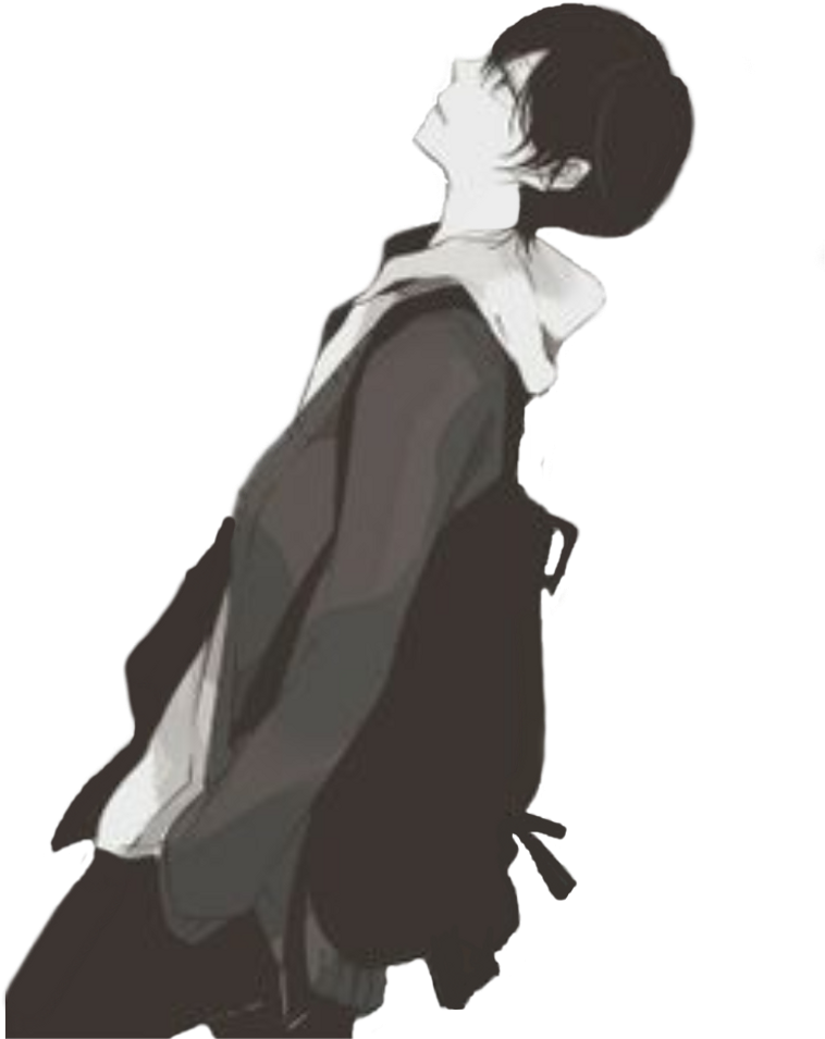 Sad anime boy png. Download sadanime sadanimeboy animeboy