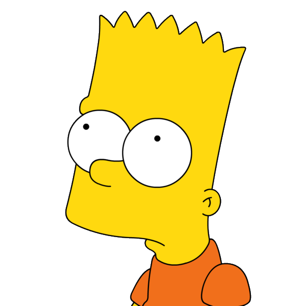 Sad bart png. Simpson the siiiimpsoooons pinterest