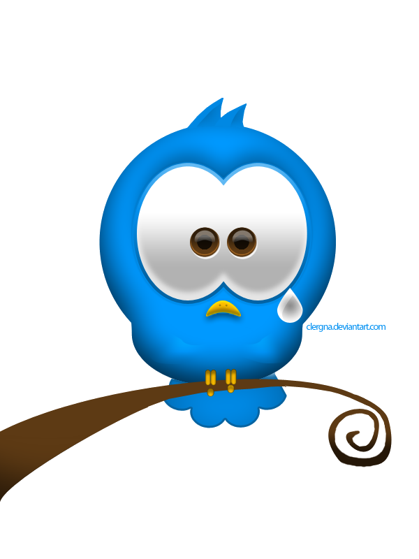 sad bird png