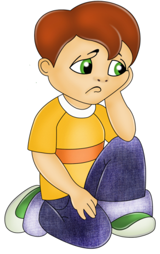 Sad children png. Collection of child