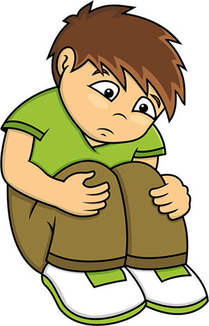 Boy png mart. Sad clipart graphic transparent library