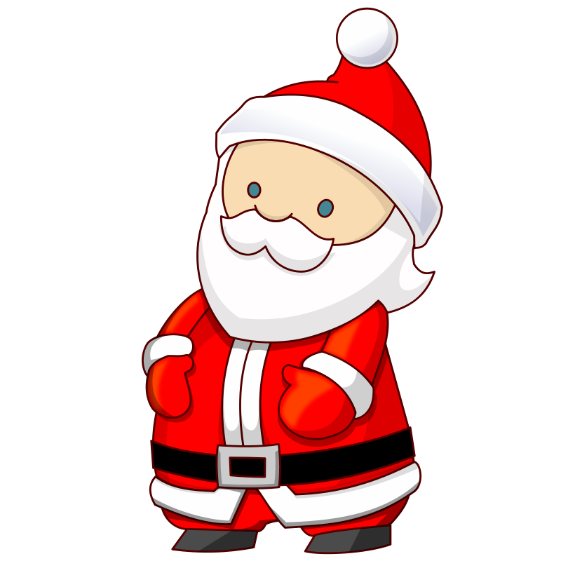 Scooter vector santa claus. Free elves pictures download