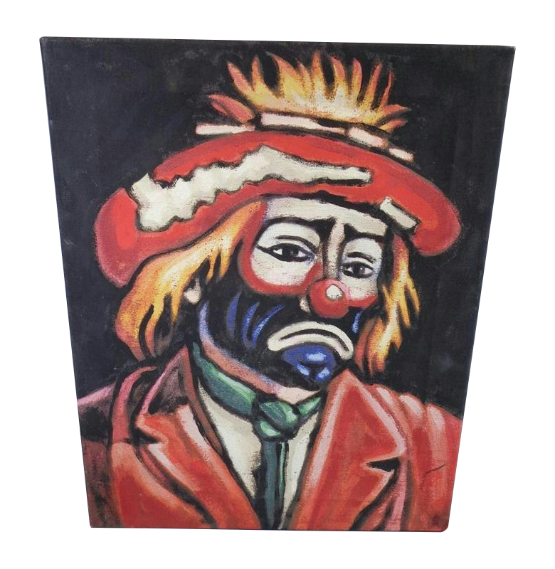 Sad clown png. Image painting warehouse wiki