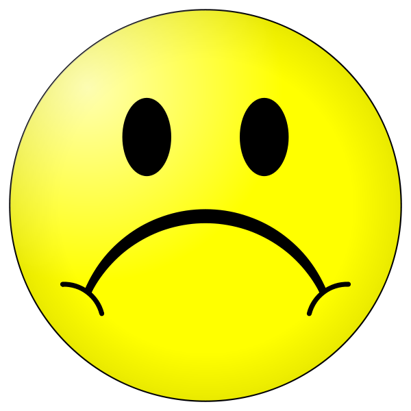 Sad face clipart png. Collection of high