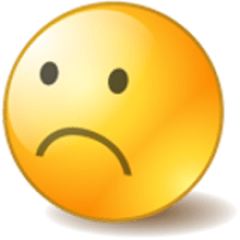 Sad transparent png. Animated face clipart images