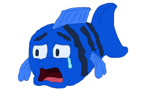 Sad fish png. Image related wallpapers