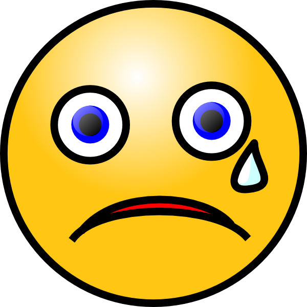 Sad gif png. Free crying emoticon download