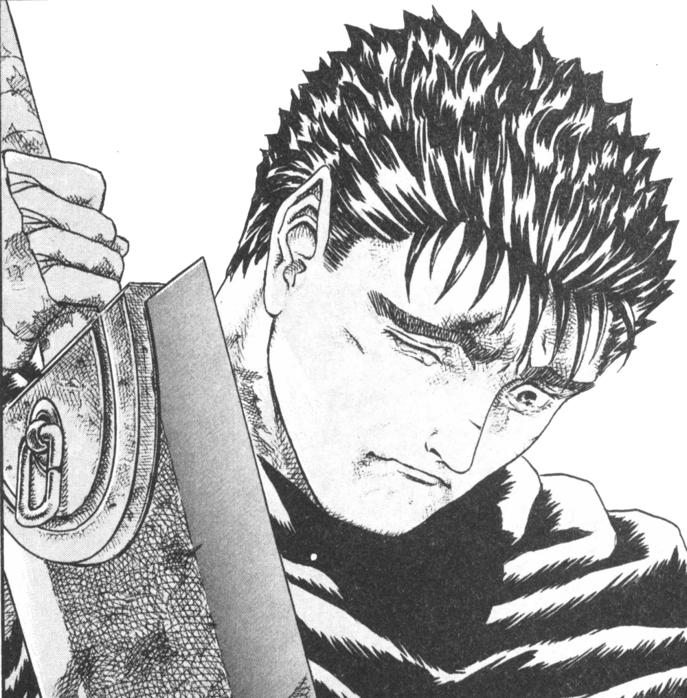 berserk drawing sad