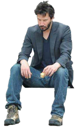 Sad keanu png. Is template by frixosisawesome