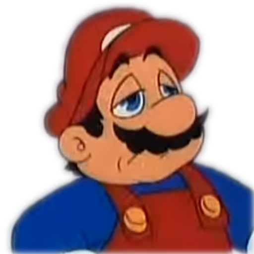 Sad mario png. Decides to give up