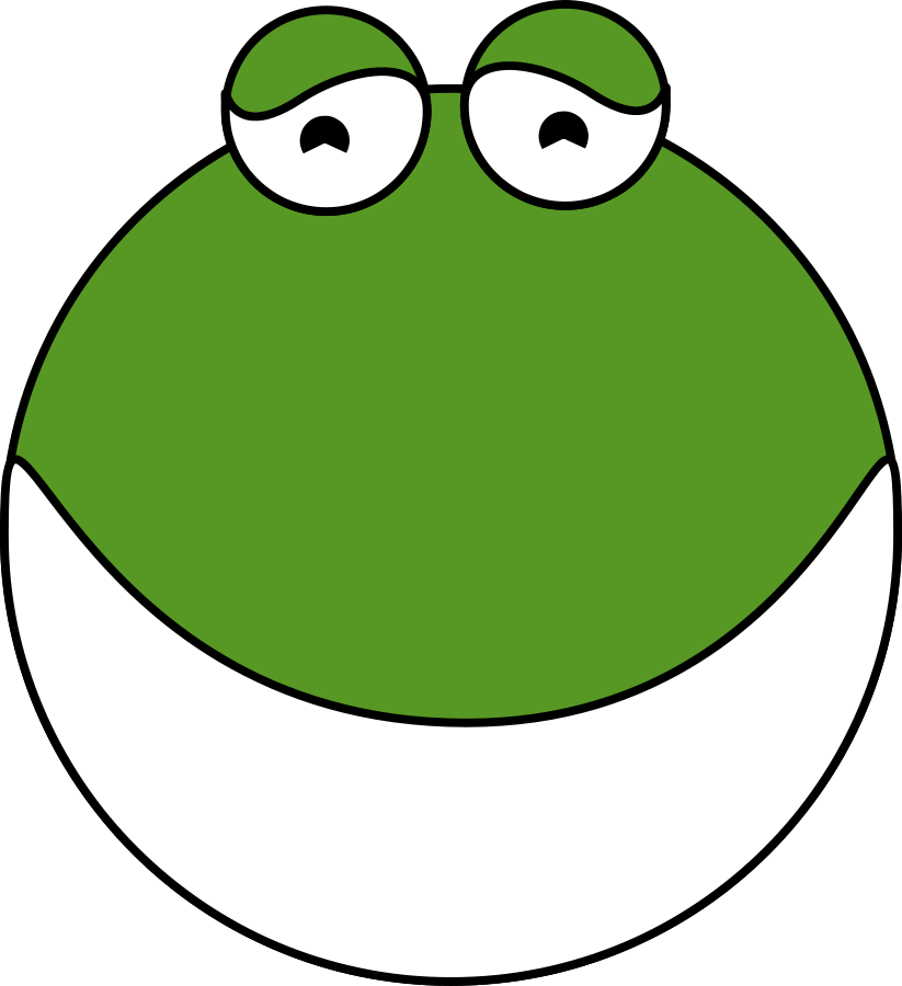 Sad pepe head png. Frog clipart images in