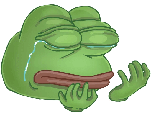 Sad pepe png. Download clipart free icons