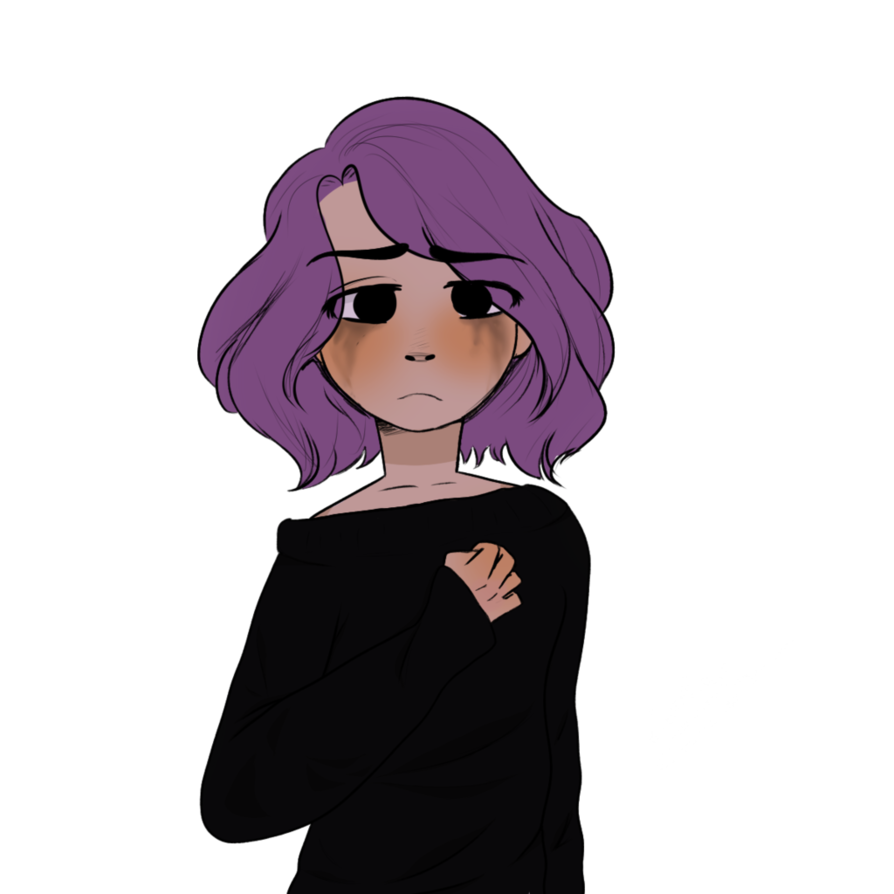 Sad person png. Bonnie by miuge on