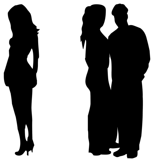 Sad person silhouette png. Free photos people search