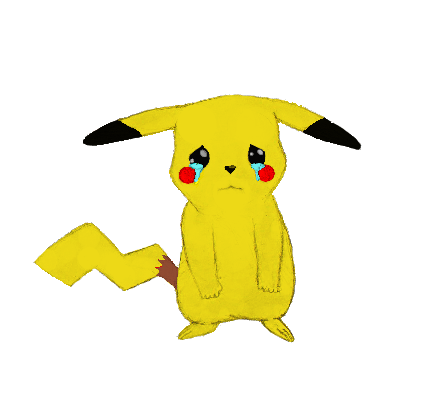 Sad pikachu png. Are by davroar on