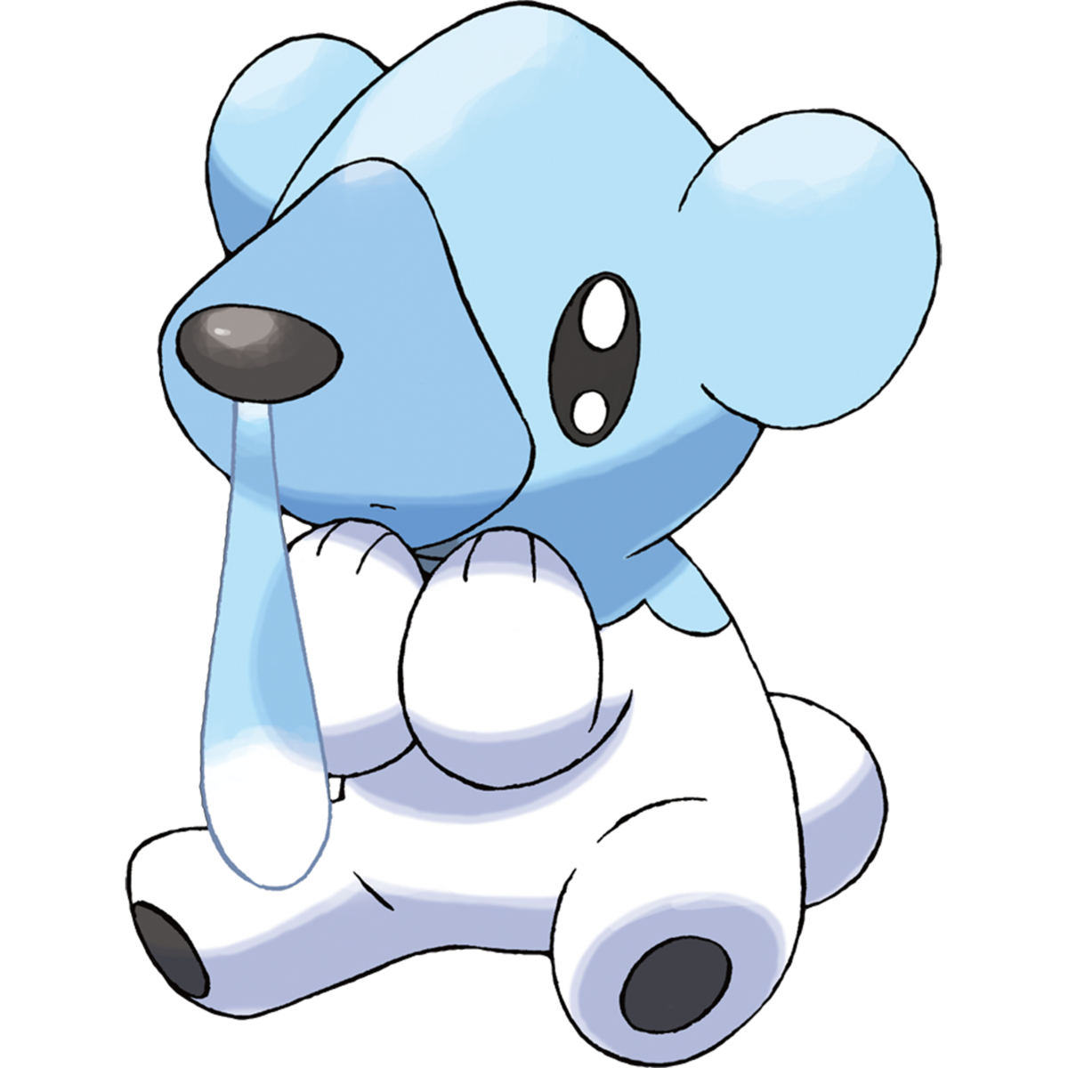 Sad pokemon png. Cubchoo pok mon bulbapedia