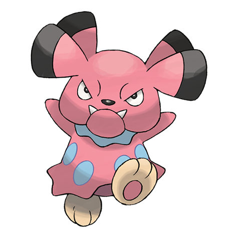 Sad pokemon png. Snubbull pok dex