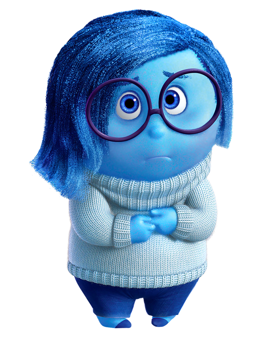 Sadness clipart. Inside out png clip
