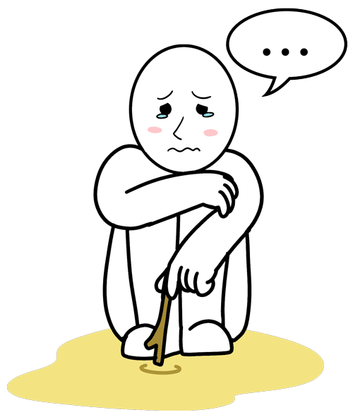 Sadness clipart lonely student. How to practice speaking