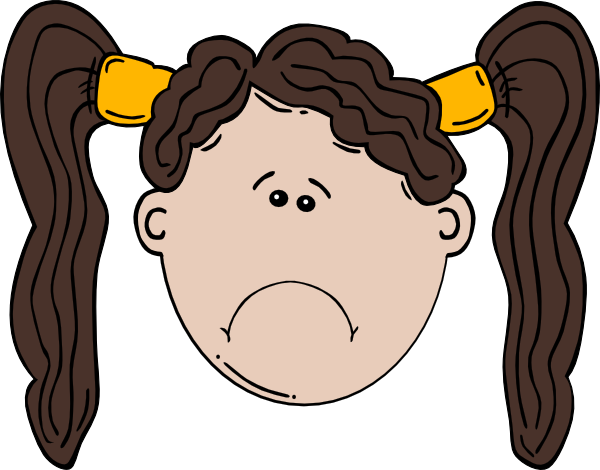 Sadness clipart sad lady. Free girl cliparts download