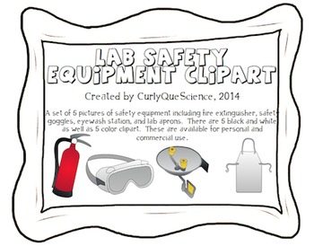 Safe clipart lab safety. Equipment by curly que