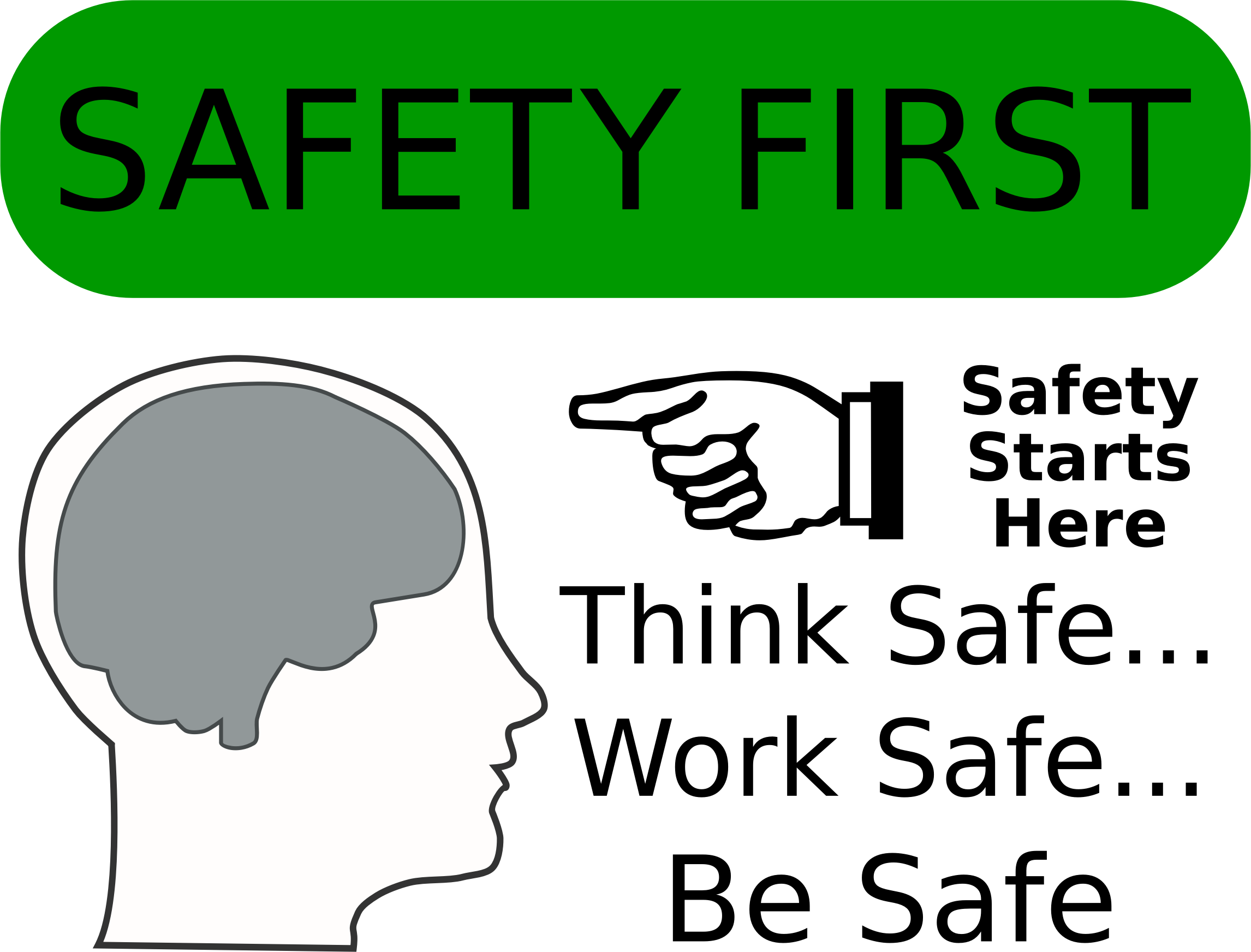 Safe clipart safety first. Big image png