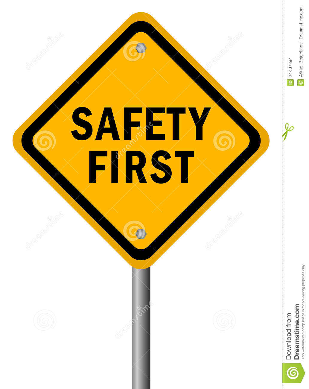 safe clipart safety first