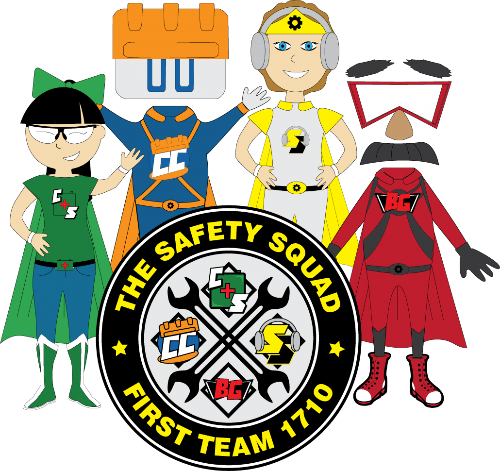 Safe clipart safety first. Goof proof robotics team