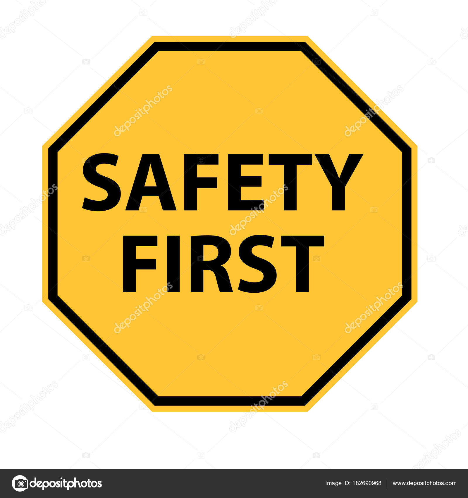 safe clipart safety signage