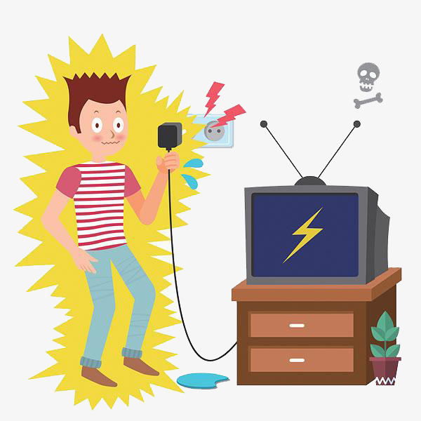 Safe clipart site safety. Use of electricity power