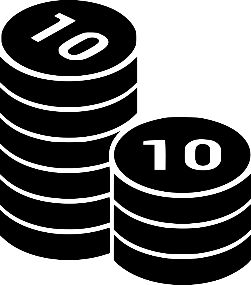 Safe drawing money stack. Coins coin columns cash