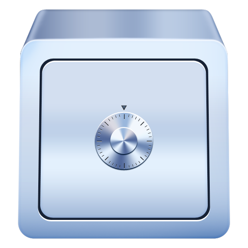 Safe drawing safety box. Security icons png vector