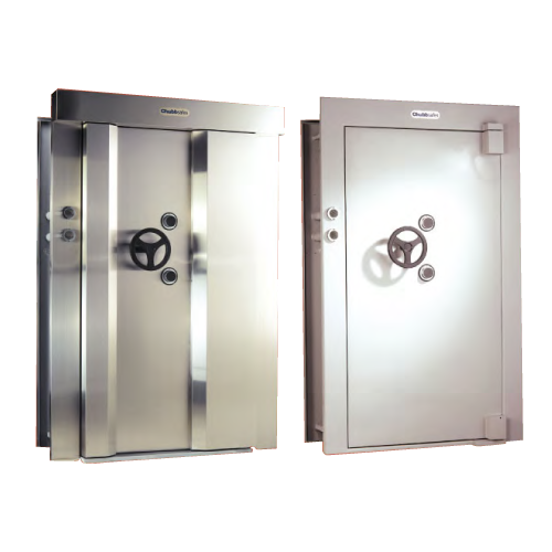 Safe drawing vault door. Ul listed global chubbsafes