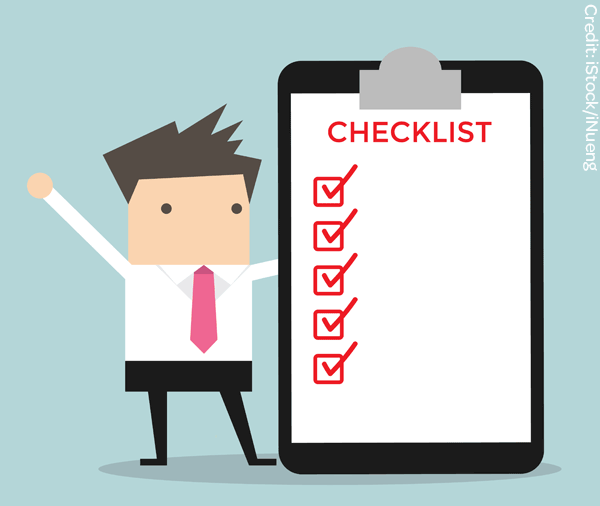 Wot health and at. Safety clipart safety checklist picture stock