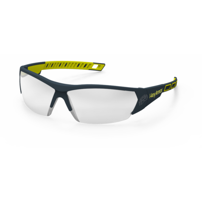 Safety glasses png. Hexarmor mx silver mirror