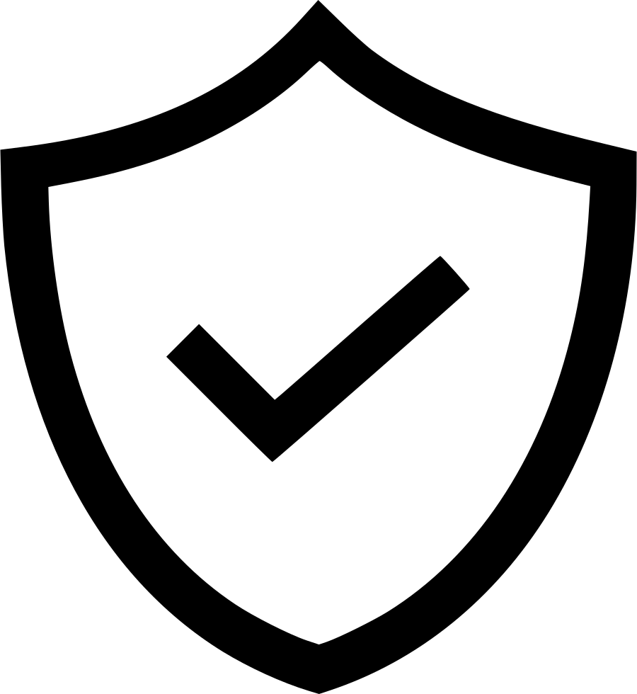 Safety icon png. Shield protect verify defense