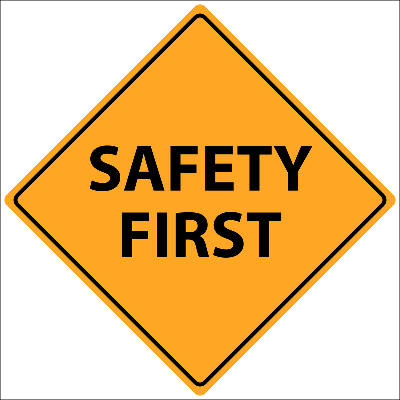 Safety instruction. Free sign cliparts download