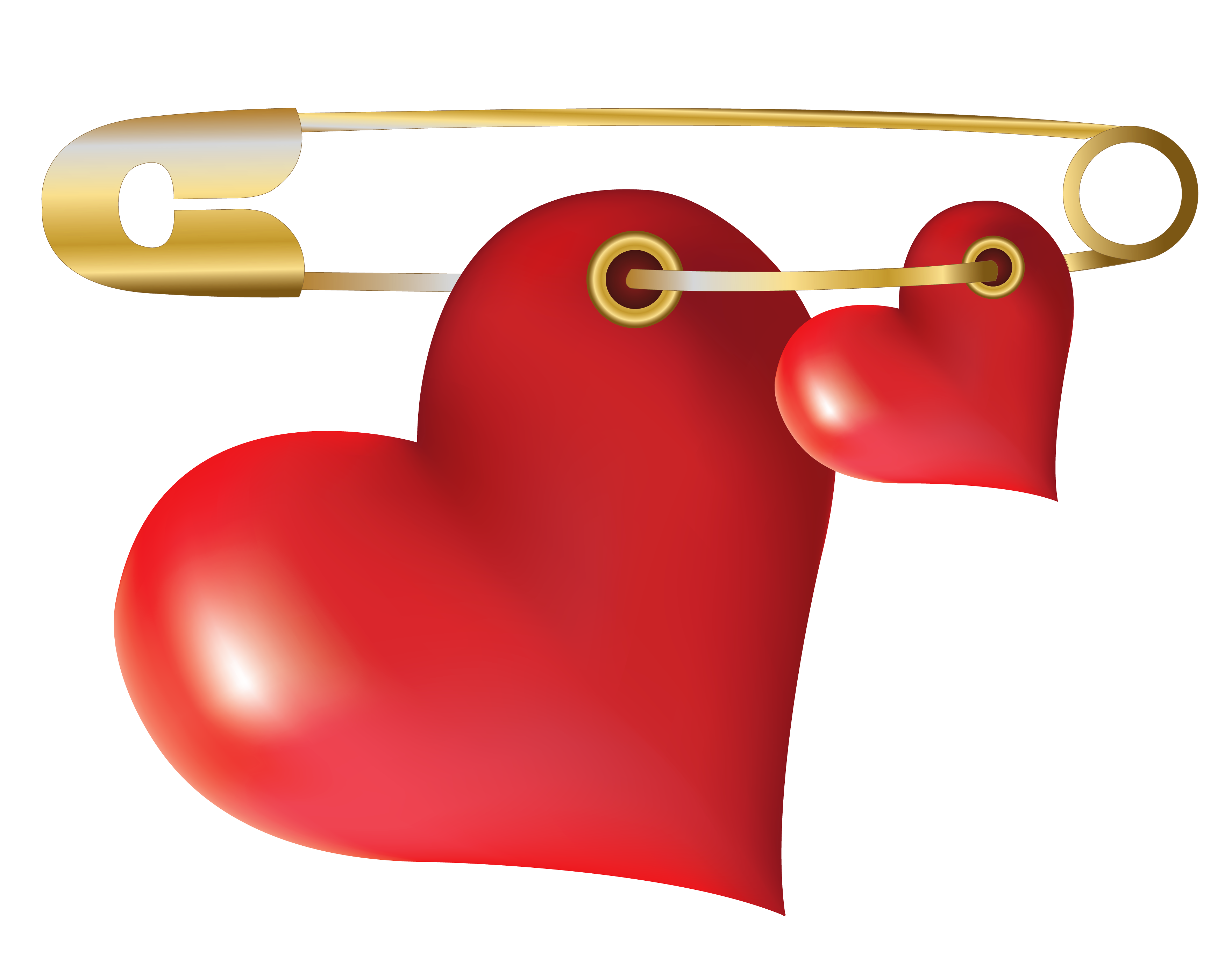 Safety pin clipart png. Hearts with gallery yopriceville
