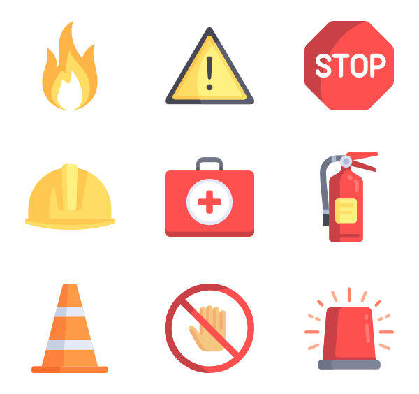 Safety vector. Icons free