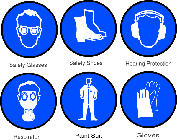 Safety vector clip art. Ppe clipart