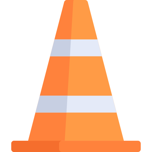 Safety vector cone. Traffic png icon repo