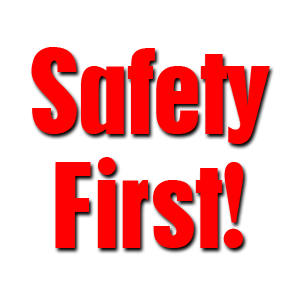 Safety vector first. Use these clipart free