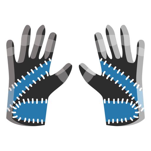 Glove vector safety. Ski gloves icon transparent